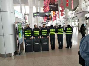 码头等人员密集型场所高压安保服务
